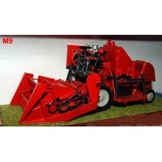 M9 Combine Harvester Massey Ferguson 735 - Bagger Unpainted Kit O Scale 1:43