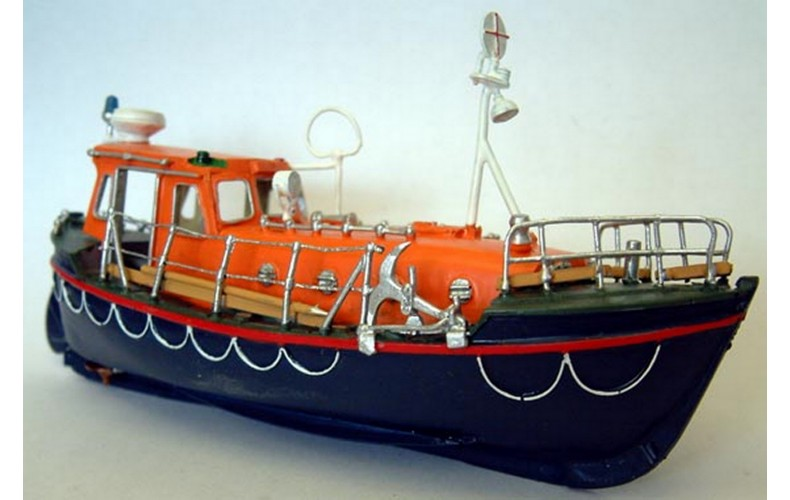 """MB19 37' 6"""" Rother Class Life Boat - Full Hull Unpainted Kit OO Scale 1:76"""