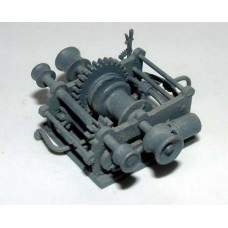 MB1d Marine Winch Unpainted Kit OO Scale 1:76