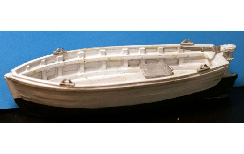 MB23 26ft Inshore crabber/fishing vessel Full hull Unpainted Kit OO Scale 1:76