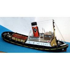 MB26 NEW 96ft Estuary Steam Tug Boat Unpainted Kit OO Scale 1:76