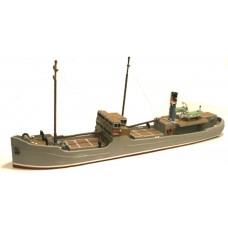MB32 148ft Raised foredeck Freighter Unpainted Kit OO Scale 1:76