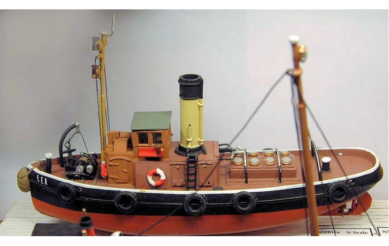 NMB10 75ft 'Tid' Class Tug Boat Unpainted Kit N Scale 1:148