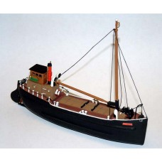 NMB11 70ft Steam Coaster 'Puffer' Unpainted Kit N Scale 1:148