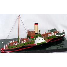 NMB12 105ft Paddle Steamer 'Hibernia' Unpainted Kit N Scale 1:148