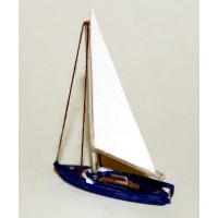 NMB14 13ft Sailing Dingy Unpainted Kit N Scale 1:148