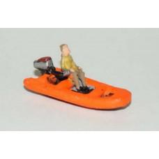 NMB15 11ft Inflatable Rib/Tender Unpainted Kit N Scale 1:148