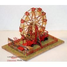 NQ13 12 Car Ely Wheel (Big Wheel Scene) Unpainted Kit N Scale 1:148