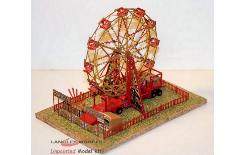 NQ13 12 Car Ely Wheel (Big Wheel Scene) Unpainted Kit N Scale 1:148