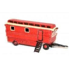 NQ15 Fairground Living Van Unpainted Kit N Scale 1:148