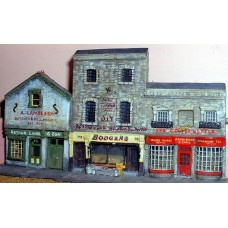 NV1set 3 different shops Unpainted Kit N Scale 1:148