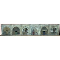 NV7set Under the arches - 6 workshops Unpainted Kit N Scale 1:148