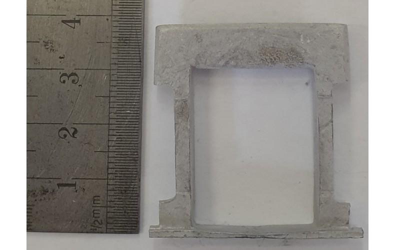 OC6a Small Window - Victorian Plain Unpainted Kit O Scale 1:43