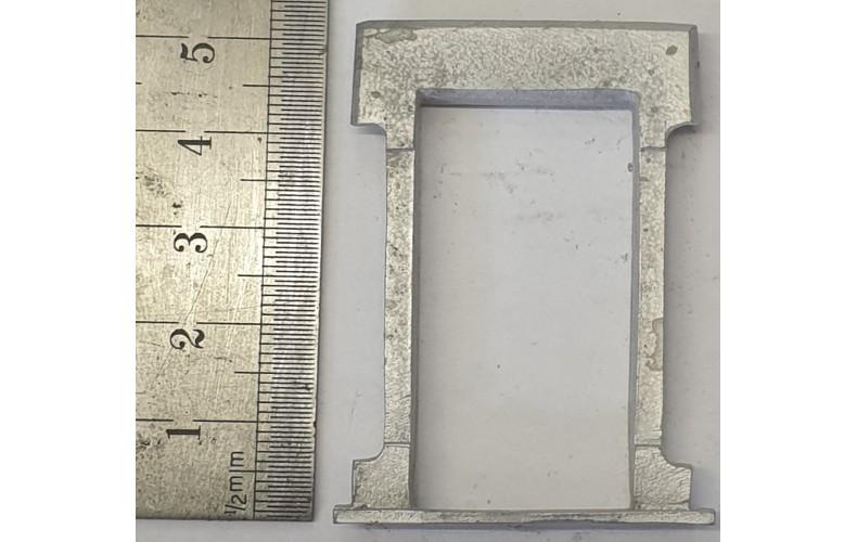 OC6c Large Window - Victorian Plain Unpainted Kit O Scale 1:43