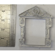 OC7a Small Window - Georgian Decorated Unpainted Kit O Scale 1:43