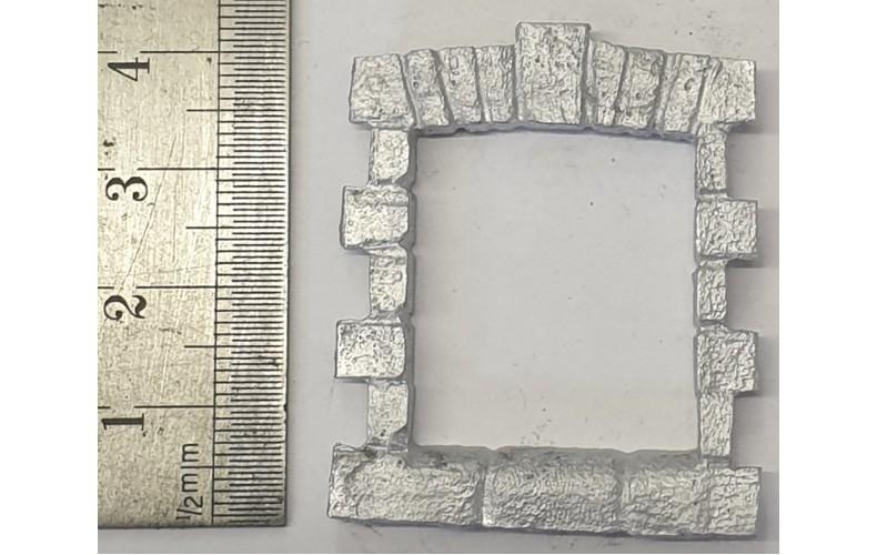 OC8a Small Window - Stone  Unpainted Kit O Scale 1:43