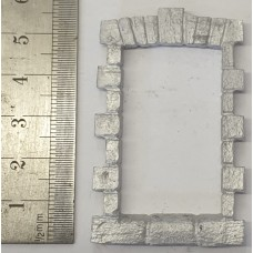 OC8b Large Window - Stone Unpainted Kit O Scale 1:43