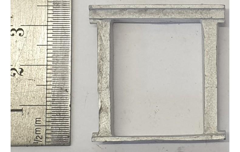 OC9a Small Window - Jacobean Unpainted Kit O Scale 1:43