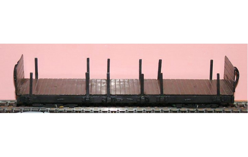 OP2 L.& B. Bogie Platform Wagon OP2 Unpainted Kit OO Scale 1:43