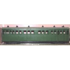 OP4 L.& B. 1st/3rd Composite coach OP4 Unpainted Kit OO Scale 1:43