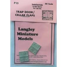 P15 2 trap-door (cellar entrance) Unpainted Kit OO Scale 1:76