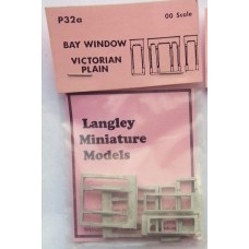 P32a 2 Bay Windows - Victorian Plain Unpainted Kit OO Scale 1:76