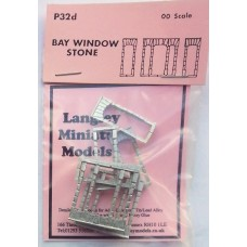 P32d 2 Bay Windows - Stone Unpainted Kit OO Scale 1:76