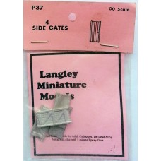 P37 4 Side Gates Unpainted Kit OO Scale 1:76