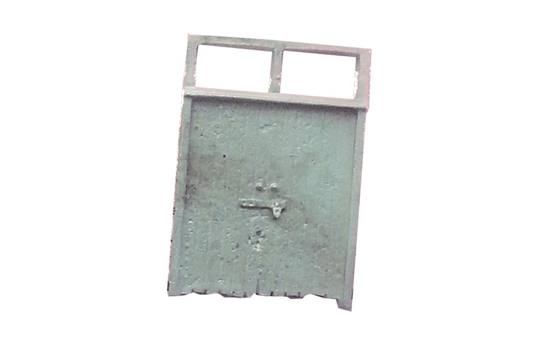P6 Double side entrance gate Unpainted Kit OO Scale 1:76