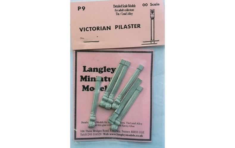 P9 6 Victorian Pilasters Unpainted Kit OO Scale 1:76