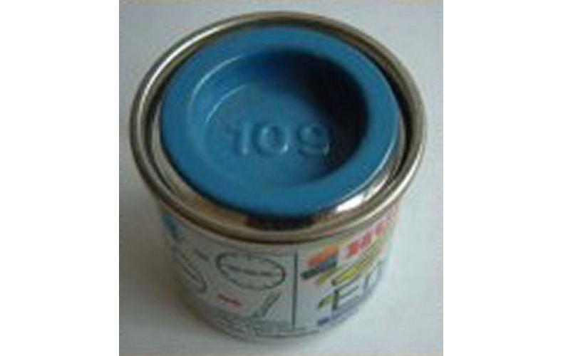 PP109 Humbrol Enamel Matt Paint Tinlet 14ml Code: 109 Mid Blue