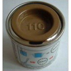 PP110 Humbrol Enamel Matt Paint Tinlet 14ml Code: 110 Mid Brown