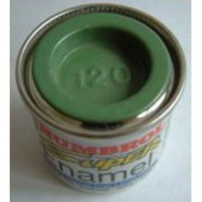 PP120 Humbrol Enamel Matt Paint Tinlet 14ml Code: 120 Light Green