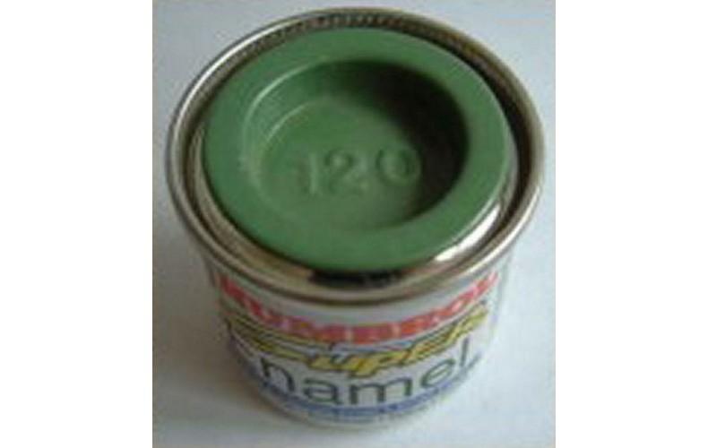 PP120 Humbrol Enamel Matt Paint Tinlet 14ml Code: 120 Light Green