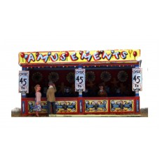 Q12 Darts (side stall) Unpainted Kit OO Scale 1:76