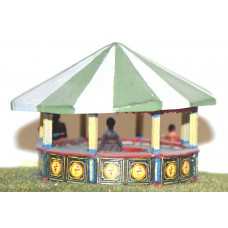Q16 Roll-a-Penny (round stall) Unpainted Kit OO Scale 1:76