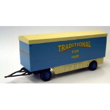 Q17 Packing Van 28ft Planked sides Unpainted Kit OO Scale 1:76