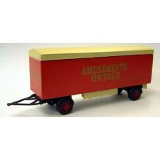 Q18 Packing Van 28ft Herringbone sides Unpainted Kit OO Scale 1:76