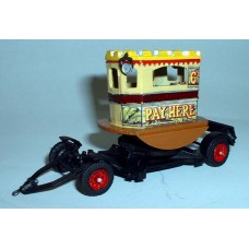 Q19 Centre Truck on Searchlight trailer Unpainted Kit OO Scale 1:76