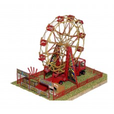 Q24 Big Wheel/Ferris Wheel mini scene Unpainted Kit OO Scale 1:76