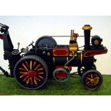 Q26-27 Foster Showmans Traction Engine Unpainted Kit OO Scale 1:76