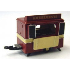Q2 Pay Booth - caravan style Unpainted Kit OO Scale 1:76