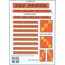 Q2t Pay Booth Decals (OO scale 1/76th)