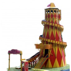 Q36 Helter Skelter (Lighthouse type) Unpainted Kit OO Scale 1:76