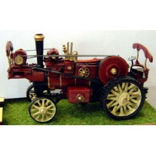 Q37-38 Burrell 8nhp Showmans Traction Engine Unpainted Kit OO Scale 1:76