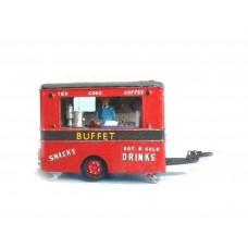 Q3 Snack/tea Bar - caravan style Unpainted Kit OO Scale 1:76