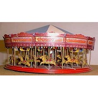 Q42 36 Horse Galloper/Carousel Ride Unpainted Kit OO Scale 1:76