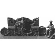 Q42d Small Marenghi Organ for Galloper Unpainted Kit OO Scale 1:76