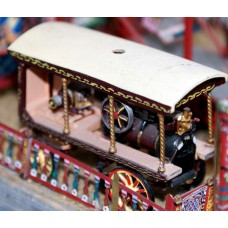 Q43 Tidman horse drawn electric light engine Unpainted Kit OO Scale 1:76