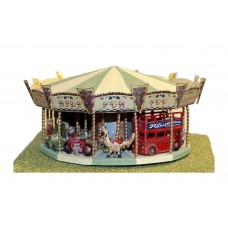 Q47 Roundabout 'Toy Set' Unpainted Kit OO Scale 1:76